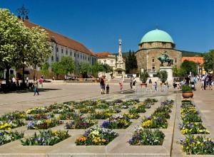 Széchenyi tér nappal