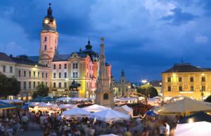 Karácsonyi vásár Pécs